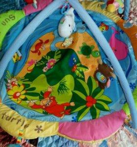 Развивающий коврик с рождения