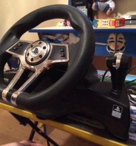 Руль и педали для PS4