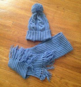 Шапочка+шарфик
