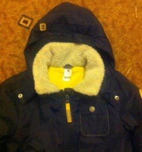Тепленькая курточка на 1,5-2,5