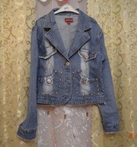 Джинсовая куртка новая и юбки