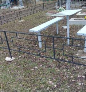 Изготовление и установка оградок,решеток,заборов и