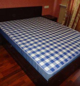 Кровать с матрасом Аделия 160