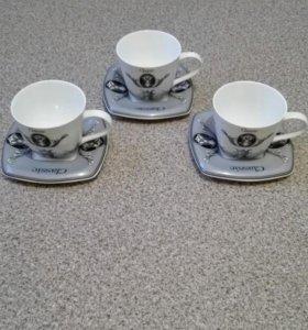 Чайный сервиз,3пер,6шт