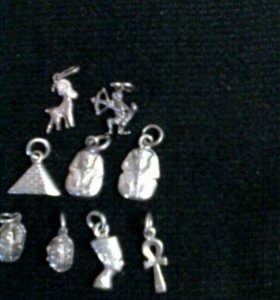 Кулоны.Серебро.Египет.