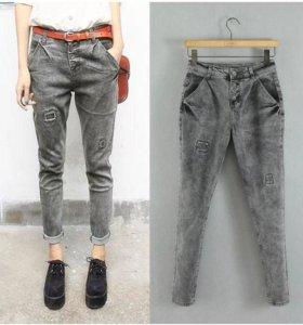 Серые джинсы. Новые с биркой