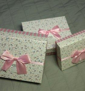 Новые упаковычные коробки