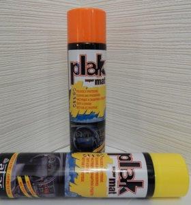 Чистящее и защитное средство PLAK super mat 600 мл