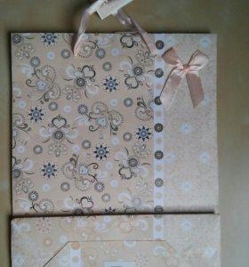 Подарочные пакеты большие