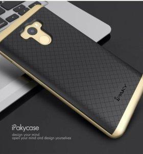 Чехол-бампер Ipaky Xiaomi Redmi 4 (Золотой)