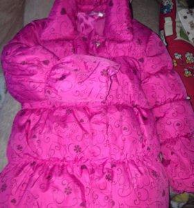 Куртка на девочку,4-5лет