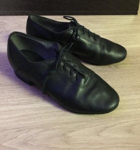 Туфли бальные кожаные стандарт