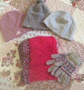Шапки,перчатки,шарфы👒