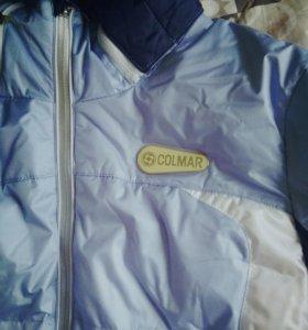 Женская куртка пуховик зимняя горнолыжная Colmar