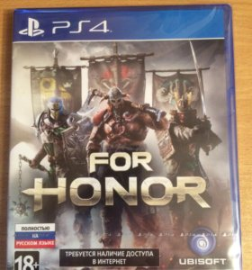 Новый диск для PS4 For Honor
