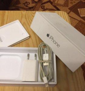 Зарядник+кубик для iPhone 5 - 7S