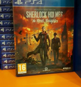 Sherlock Holmes the Devils PS4 SONY PLAYSTATION 4
