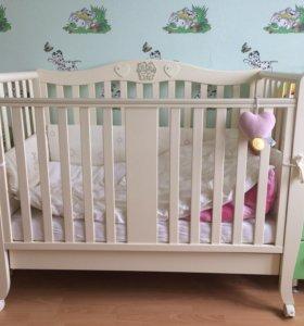 Детская кроватка Bambolina Little Armonia 120*60