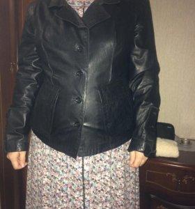 кожаннаЯ куртка из натуральной кожи