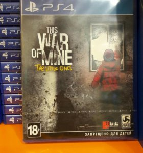 The War of Mine PS4 SONY PLAYSTATION 4