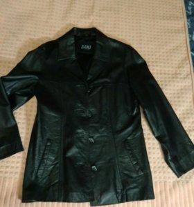 Куртка пиджак кожаный