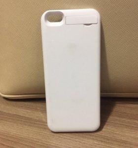 Зарядка-чехол на iPhone 5/5S