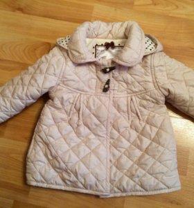 Пальто   На весну 80-92 Mothercare