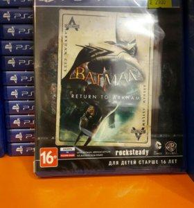 Batman Return to Arkham PS4 SONY PLAYSTATION 4