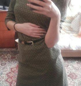 Тёплое платье 👧