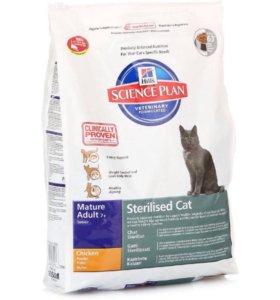 Сухой корм HILLS для стерилизованных кошек .