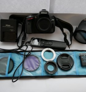 Зеркальный фотоаппарат Nikon d5100 18-105mm VR Kit