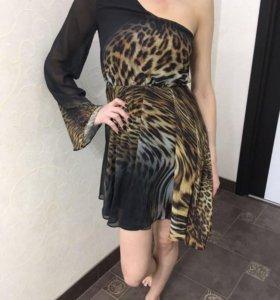 Шифоновое платье , новое