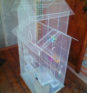 Клетка для попугаев птиц