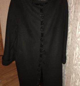 Пальто шерсть/кашемир/вискоза