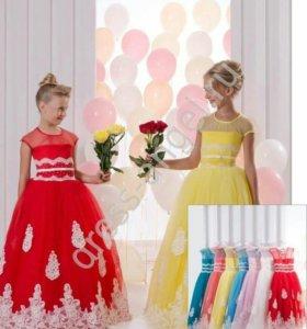 Детское нарядное платье. Новое