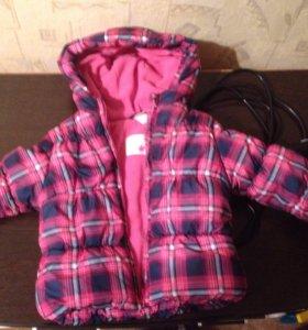 🍂утеплённая куртка