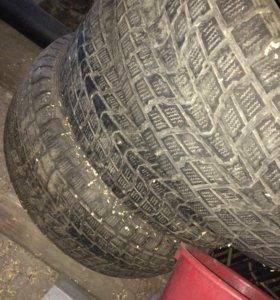 Резина Dunlop r15 3 колеса