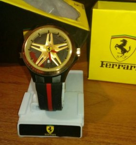 Часы Ferrari мужские золотые