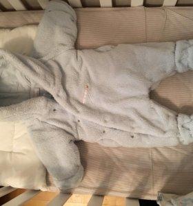 Комбинезон на малыша плюшевый 56-62 см