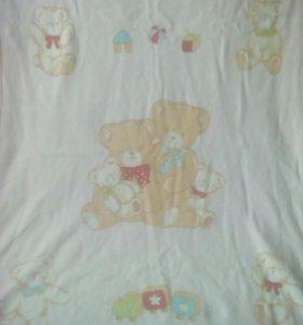 Одеялочка в детскую кроватку