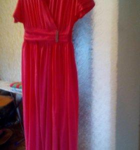 Шифоновое платье 48-50рр