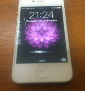 Телефон Apple iphone 4s