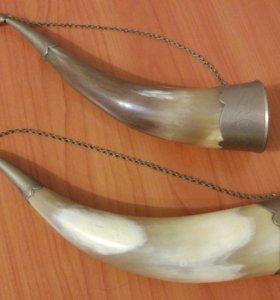 Рог сувенирный на цепочке