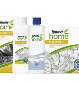 Dish Drops Средство для мытья посуды Amway