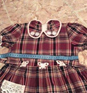 Платье р 2-3г