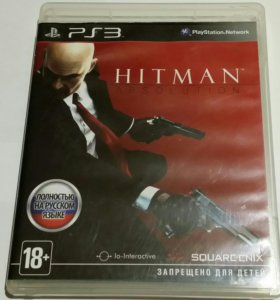 HITMAN ABSOLUTION PS-3