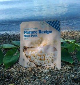 Маска тканевая с жемчугом Nature Recipe Mask