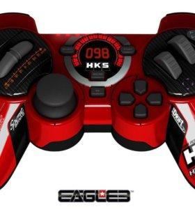 PS 3 Джойстик проводной Eagle3 HKS Racing Control