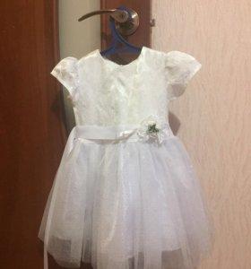 Платье на девочку к любому празднику.