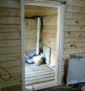 Окосячка окон и дверных проемов.